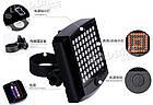 Вело-габарит поворотный 64 LED с беспроводным пультом Д/У LEADBIKE LD-24, фото 8