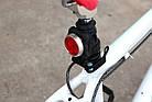 Габарит / передняя фара USB «CYCLE ZONE» HJ-030 полицейская диоды красный + синий / белый, фото 5