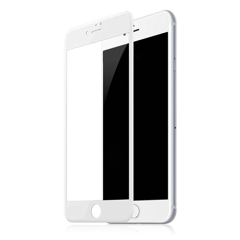 Защитное стекло 10D - для iPhone 7 Plus /8 Plus Full Glue 9H (полной оклейки) White