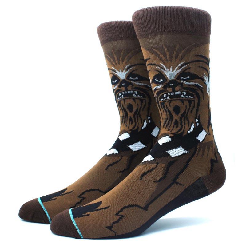 Высокие мужские носки Звёздные войны Чубакка
