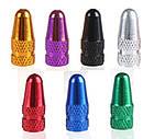 Ковпачки на ніпель алюмінієві ЧПУ Преста (Presta) стандартні, фото 5