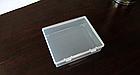 Контейнер / коробка пластиковая прозрачная JUWEI 103*86*27 для хранения мелочей и аксессуаров, фото 2