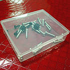 Контейнер / коробка пластиковая прозрачная JUWEI 103*86*27 для хранения мелочей и аксессуаров, фото 8