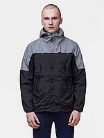 Куртка мужская (ветровка)   REFLECTIVE WINDBREAKER серая