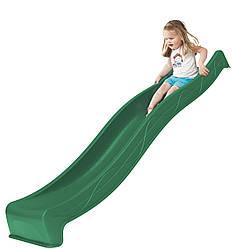 Горка спуск для детей 3 м. KBT Зеленая