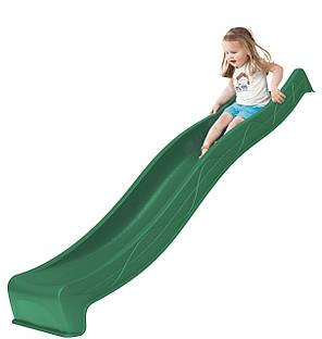 Горка спуск для детей 3 м. KBT Зеленая, фото 2
