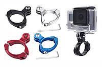 Крепление алюминиевое на вело-руль для экшн камеры action-camera GoPro
