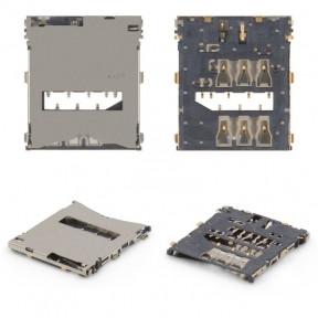 Разъем Sim-карты Sony C6602 Xperia Z L36h, C6603 L36i, C6606 L36a