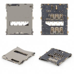 Разъем Sim-карты Sony C6602 Xperia Z L36h, C6603 L36i, C6606 L36a, фото 2