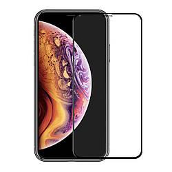 Защитное стекло 10D - для iPhone XS Max Full Glue 9H (полной оклейки)