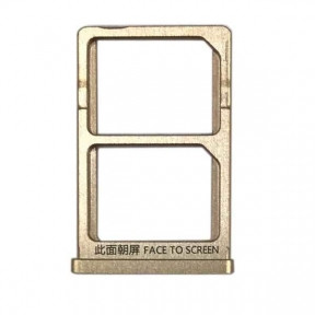 Держатель Sim-карты Xiaomi Mi5s золотистый