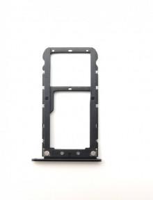 Держатель Sim-карты и карты памяти Xiaomi Mi A1, Mi5x черный Оригинал