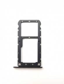 Держатель Sim-карты и карты памяти Xiaomi Mi A1, Mi5x черный Оригинал, фото 2
