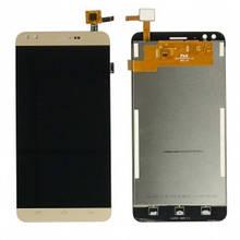 Дисплей Prestigio MultiPhone PSP3504 Muze C3 с сенсором (тачскрином) золотистый