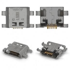 Разъем зарядки (коннектор) Huawei Honor 5, 5A, Honor 5X, Honor 7, 7i, Mate 10 Lite, P8 Lite 2017 5 pin, micro-USB тип-B
