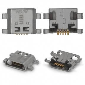 Разъем зарядки (коннектор) Huawei Honor 5, 5A, Honor 5X, Honor 7, 7i, Mate 10 Lite, P8 Lite 2017 5 pin, micro-USB тип-B, фото 2