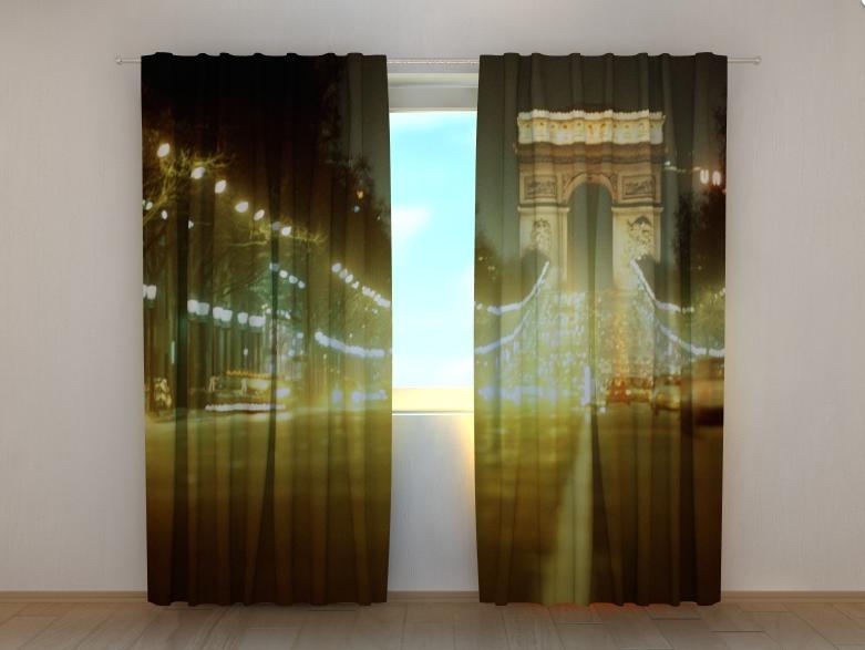 "Фотошторы ""Триумфальная арка"" 250 х 260 см"