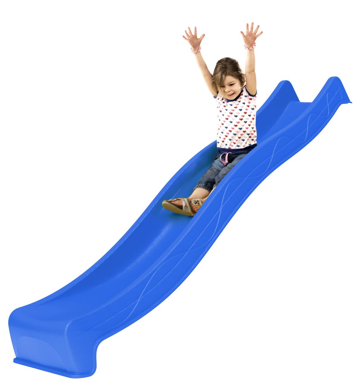 Горка спуск для детей 3 м. KBT Синяя