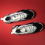 Кросівки Nike Zoom 2k White Black, фото 2