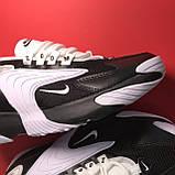 Кроссовки Nike Zoom 2k White Black, фото 6