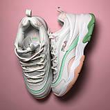 Кросівки Fila Ray White Pink Green, фото 3