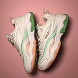 Кросівки Fila Ray White Pink Green, фото 5
