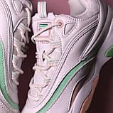 Кросівки Fila Ray White Pink Green, фото 6