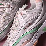 Кросівки Fila Ray White Pink Green, фото 8