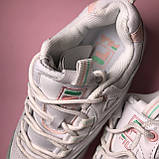 Кросівки Fila Ray White Pink Green, фото 9