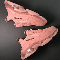 Кроссовки Balenciaga Triple S Full Pink