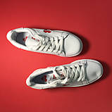 Кросівки Adidas Stan Smith White Red Heart, фото 2