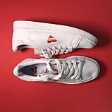 Кросівки Adidas Stan Smith White Red Heart, фото 3