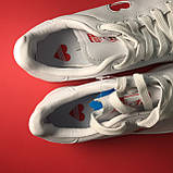 Кросівки Adidas Stan Smith White Red Heart, фото 6