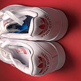 Кросівки Adidas Stan Smith White Red Heart, фото 7