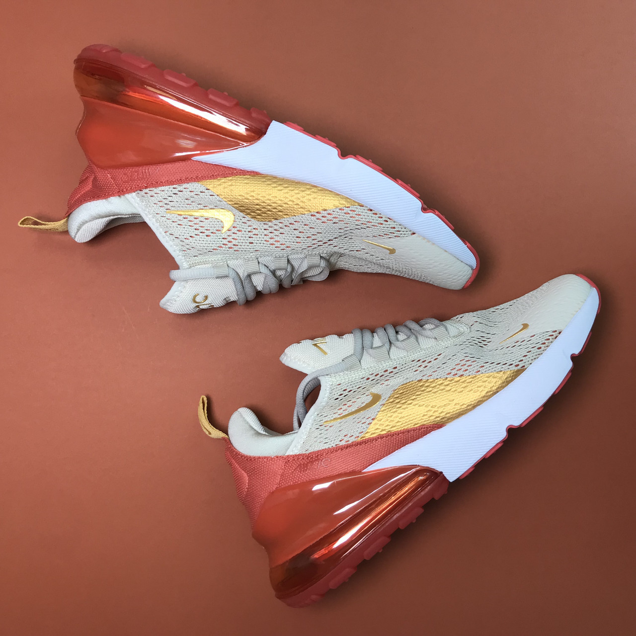 Кроссовки Nike Air Max 270 Beige Red