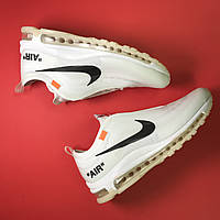 Кроссовки Nike Air Max 97 White x OFF-White, фото 1