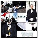 Чёрные хлопчатобумажные 100% перчатки (размер L)., фото 9