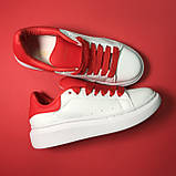 Alexander McQueen Red White, фото 3