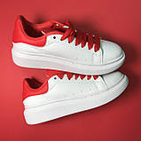Alexander McQueen Red White, фото 4