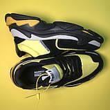 Кросівки Balenciaga Triple S V2 Black Yellow, фото 3