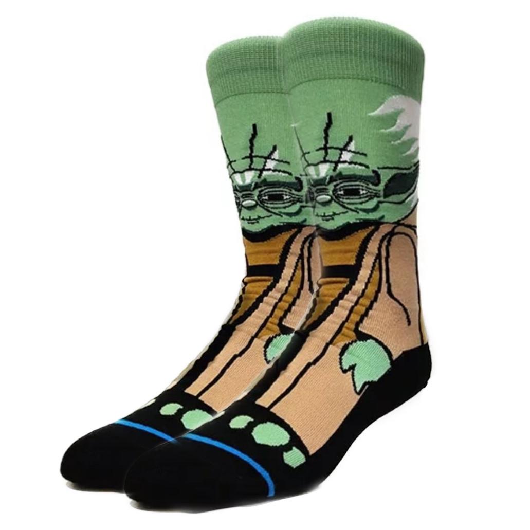 Высокие мужские носки Мастер Йода