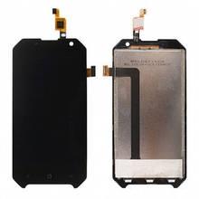 Дисплей Blackview BV6000, BV6000s с сенсором (тачскрином) черный