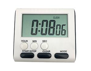 Таймер цифровой суточный Kronos CX105 с магнитом и часами секундомер (acf_00481)