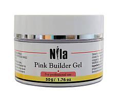 Nila Гель строительный Pink Builder Gel 50 г.