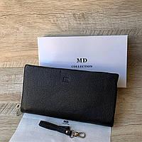 Мужской кожаный многофункциональный клатч MD, фото 1