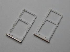 Держатель Sim-карты и карты памяти Meizu M6 (M711) золотистый