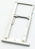 Тримач Sim-карти і карти пам'яті Meizu M6 (M711) сріблястий