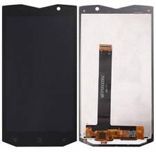 Дисплей Blackview BV8000, BV8000 Pro с сенсором (тачскрином) черный