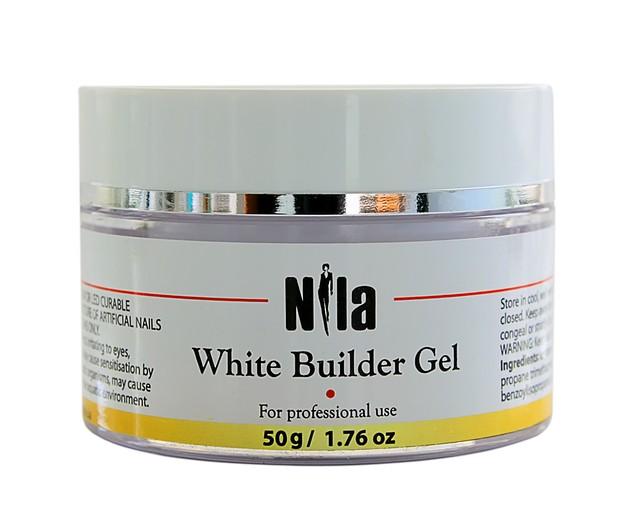 Nila Гель строительный White Builder Gel 50 г.