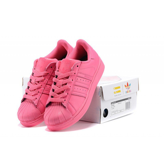 Adidas superstar supercolor pharrell williams collections женские кроссовки